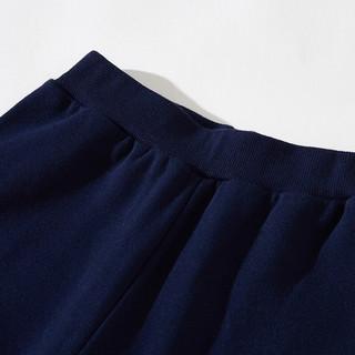 JEANSWEST 真维斯 男童裤子 线框字母款 经典蓝 150cm