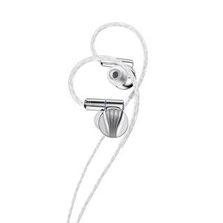 FiiO 飞傲 FD5 入耳式挂耳式有线耳机 银色
