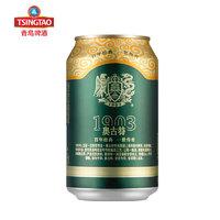 TSINGTAO 青岛啤酒 奥古特 啤酒 330ml*24听 *3件