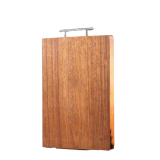 Suncha 双枪 双枪 黑金檀木整木抗菌菜板防霉 加厚切菜板砧板可剁骨实木家用案板擀面板 36*24*2.5cm