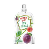 亨氏 (Heinz) 婴幼儿辅食 苹果西梅泥 超金果泥宝宝辅食营养78g (辅食添加初期-36个月适用)