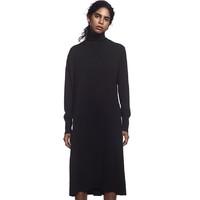 必买年货:UNIQLO 优衣库 432722 女装 +J 精纺美利奴羊毛A字型连衣裙