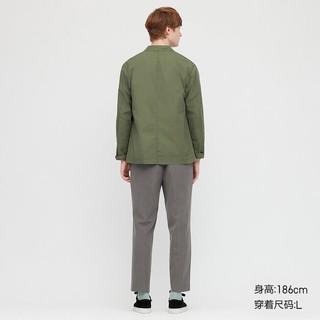 优衣库 男装 EZY弹力九分裤(休闲裤) 425149 UNIQLO