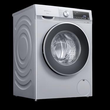 京东PLUS会员、限地区 : SIEMENS 西门子 悠享系列 WG42A1U80W 滚筒洗衣机 9kg  银色