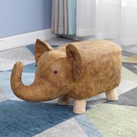 Le Bronte 朗特乐 卡通动物实木换鞋凳