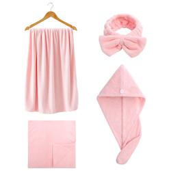 grace 洁丽雅 RHZ-W0499 毛巾浴巾 两件套