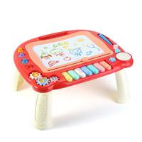 小贝熊 儿童彩色八音琴音乐磁性写字板