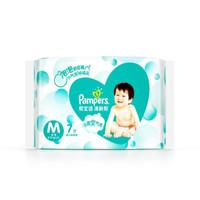 陪伴计划:Pampers 帮宝适 清新帮系列 通用纸尿裤 M 7片