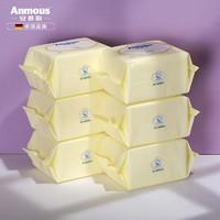 聚划算百亿补贴:Anmous 安慕斯 婴儿棉柔巾 100抽*6包