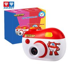 奥迪双钻儿童拍照相机宝宝高清数码智能相机男孩女孩玩具超级飞侠数码相机-1200w像素时尚新年礼物DL391611
