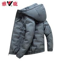 雅鹿 棉衣男士加厚外套