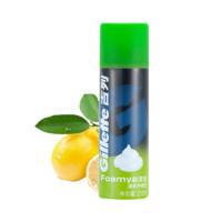 聚划算百亿补贴:Gillette 吉列 清新柠檬型 剃须泡 210g