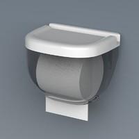 微佳达 免打孔防水厕所纸巾盒