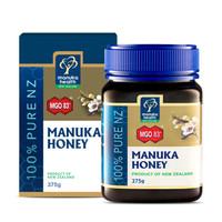 限地区:manuka health 蜜纽康 麦卢卡花蜂蜜 MGO83+ 375g *2件