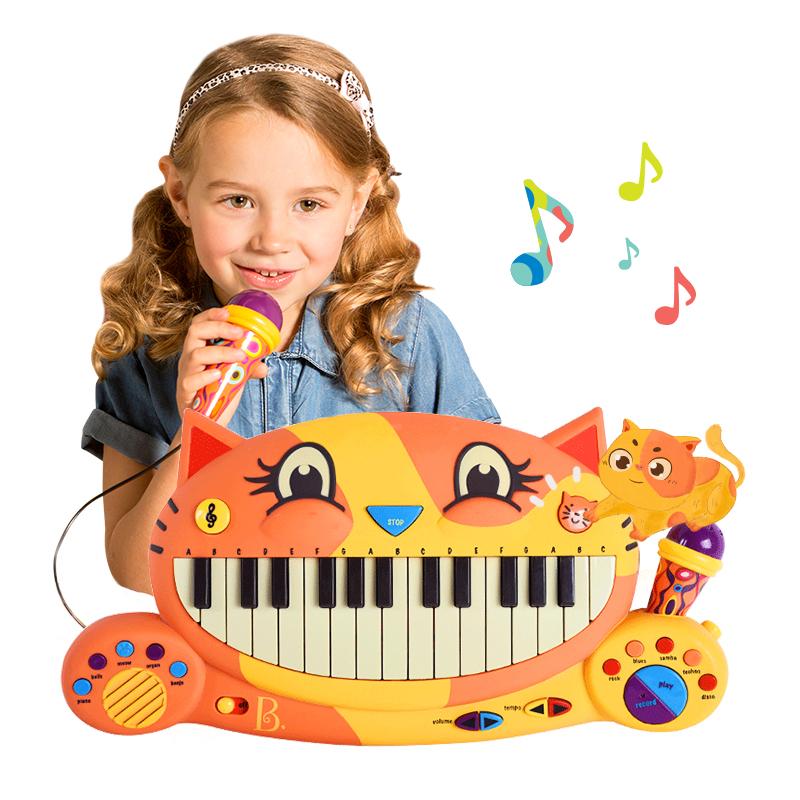 B.Toys 比乐大嘴猫音乐电子钢琴