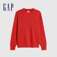 Gap 盖璞 656143 男女同款LOGO运动卫衣