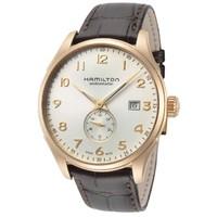 小编精选:复古、儒雅、绅士——HAMILTON 汉米尔顿 爵士大师系列 H42575513 男士机械腕表