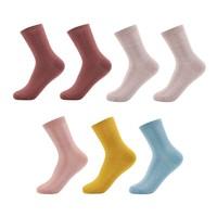 澜馨鑫 女士长筒袜子 10双装