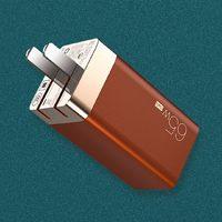 米物 甄妙氮化镓GaN充电器 65W三口
