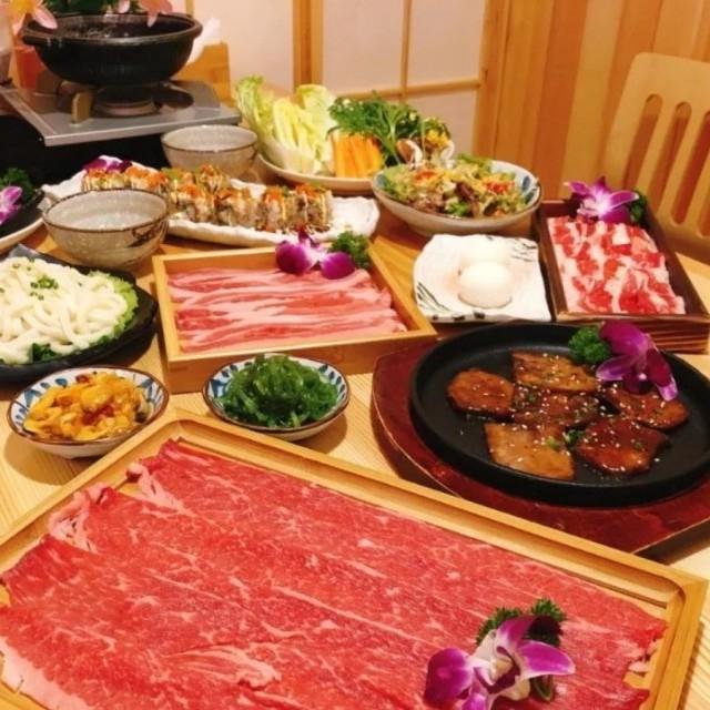 上海长寿路店 源乔木寿司3人套餐