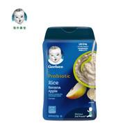 Gerber 嘉宝 苹果香蕉营养米粉二段 227g/罐 *8件