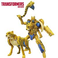 Hasbro 孩之宝 变形金刚 决战塞伯坦王国 加强级系列 F0669 黄豹勇士