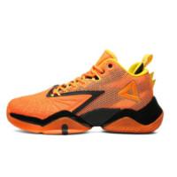 PEAK 匹克 态极闪电 男子篮球鞋 E02041A 荧光桔 45