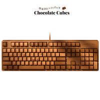 百亿补贴:AJAZZ 黑爵 Chocolate Cubes 巧克力色机械键盘 Cherry轴