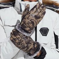 辞林 保暖手套 针织触屏/pu皮可选