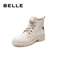 BeLLE 百丽 BZTB7DD9B 女士马丁靴
