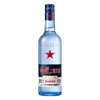 红星 二锅头酒 绵柔8纯粮 蓝瓶 43%vol 清香型白酒 750ml 单瓶装