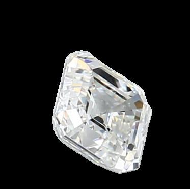 Blue Nile 0.72克拉 Asscher裸钻(非常好切工 成色H 净度VVS1) LD04059107
