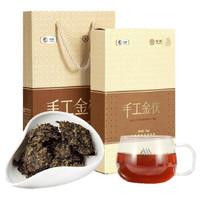 中茶 金花茯砖手工金茯黑茶 1kg *2件