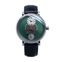 SHANGHAI 上海牌手表100012514400 男士机械飞轮腕表
