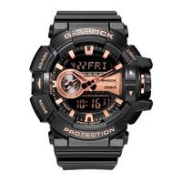 历史低价、考拉海购黑卡会员:CASIO 卡西欧 G-Shock系列 GA-400 男士石英表 *2件