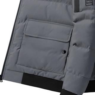 冬季新品外套宽松工装运动立领棉袄短款棉衣棉服外套男
