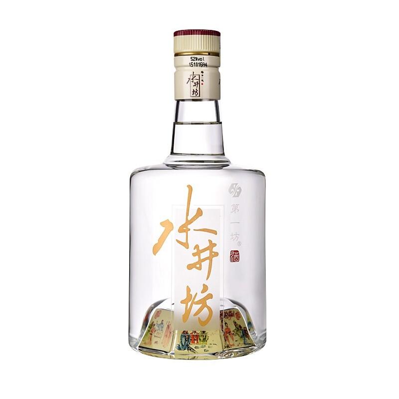 swellfun 水井坊 三国义勇仁 简装版 52%vol 浓香型白酒 500ml 单瓶装