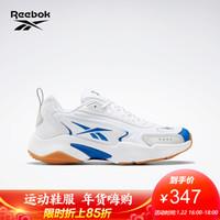 Reebok锐步 运动经典  VECTOR RUNNER男女低帮休闲鞋 FY6519_蓝色/土黄色/白色 42