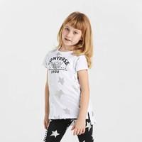 星星图案 女大童款舒适透气短袖连衣裙