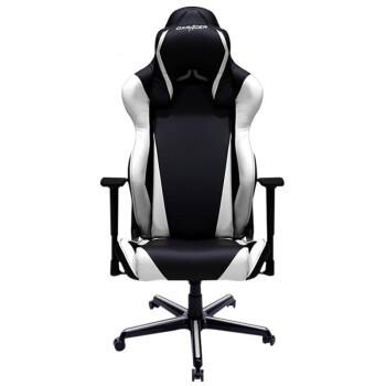 迪锐克斯(DXRACER)R2电脑椅子 电竞椅龙甲胄靠背人体工学办公椅老板椅 家用游戏转椅 黑白 *2件