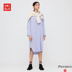 UNIQLO 优衣库 431751 女装衬衫式连衣裙