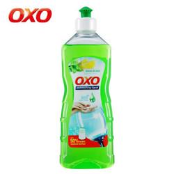 OXO 德国原装进口 洗洁精柠檬薄荷型500ml 柠檬薄荷型 植物提取无残留 护手润肤 餐具清洗剂 *7件