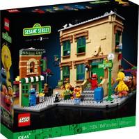百亿补贴:LEGO 乐高 Ideas系列 21324 芝麻街(123 Sesame Street)