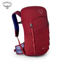 OSPREY 小鹰淘气鬼18升儿童日用旅游多功能背包减负护脊双肩包学生背包JET 18 红色
