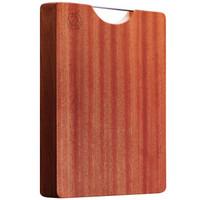 华帝(VATTI)实木菜板40CM大号砧板加厚整木乌檀木案板和面板方形家用菜板40*27*2.5cm