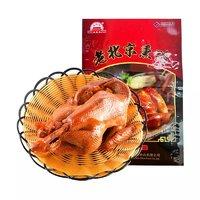 必买年货、88VIP:大红门 老北京熏鸡 550g+冠莲 江西米粉米线粉干 1250g*3袋*2件+马奇新新 玫瑰夹心饼干 19g
