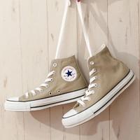 CONVERSE 匡威 ALL STAR COLORS HI 帆布鞋 日本限量奶茶色