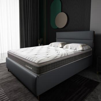 聚划算百亿补贴 :  SLEEMON 喜临门 赫斯提Plus 7区独袋静音弹簧乳胶床垫 1.5/1.8m