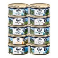 ZIWI 滋益巅峰 猫罐头 85g*10罐(牛3+羊3+马鲛鱼3+马羊 )