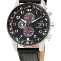 Citizen 西铁城 Quartz Solar Watch CA0681-03E 男士光动能腕表